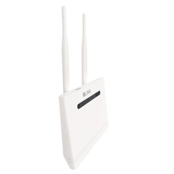 Link 4G Broadband Mobile Router White