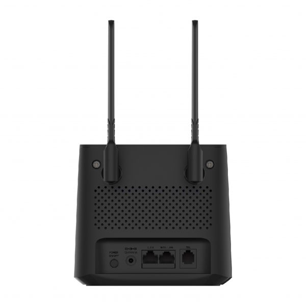 Link 4G Broadband Mobile Router Black
