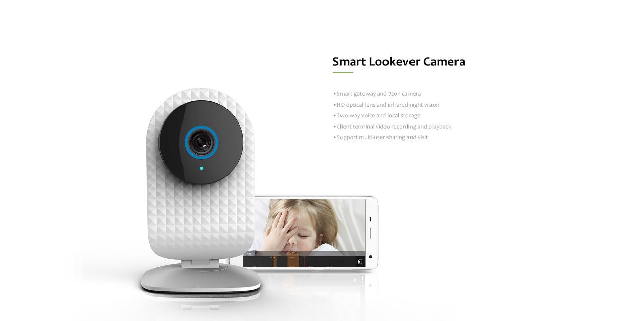 smart doorlock pack - camera and smartphone