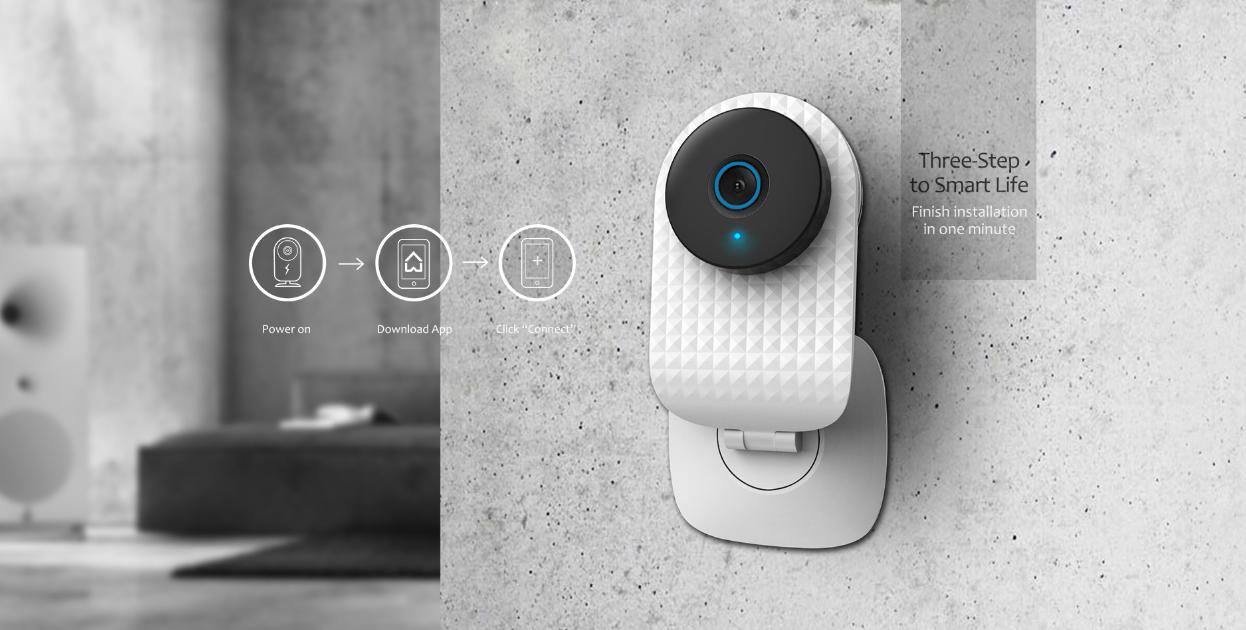 smart doorlock pack- camera at the door