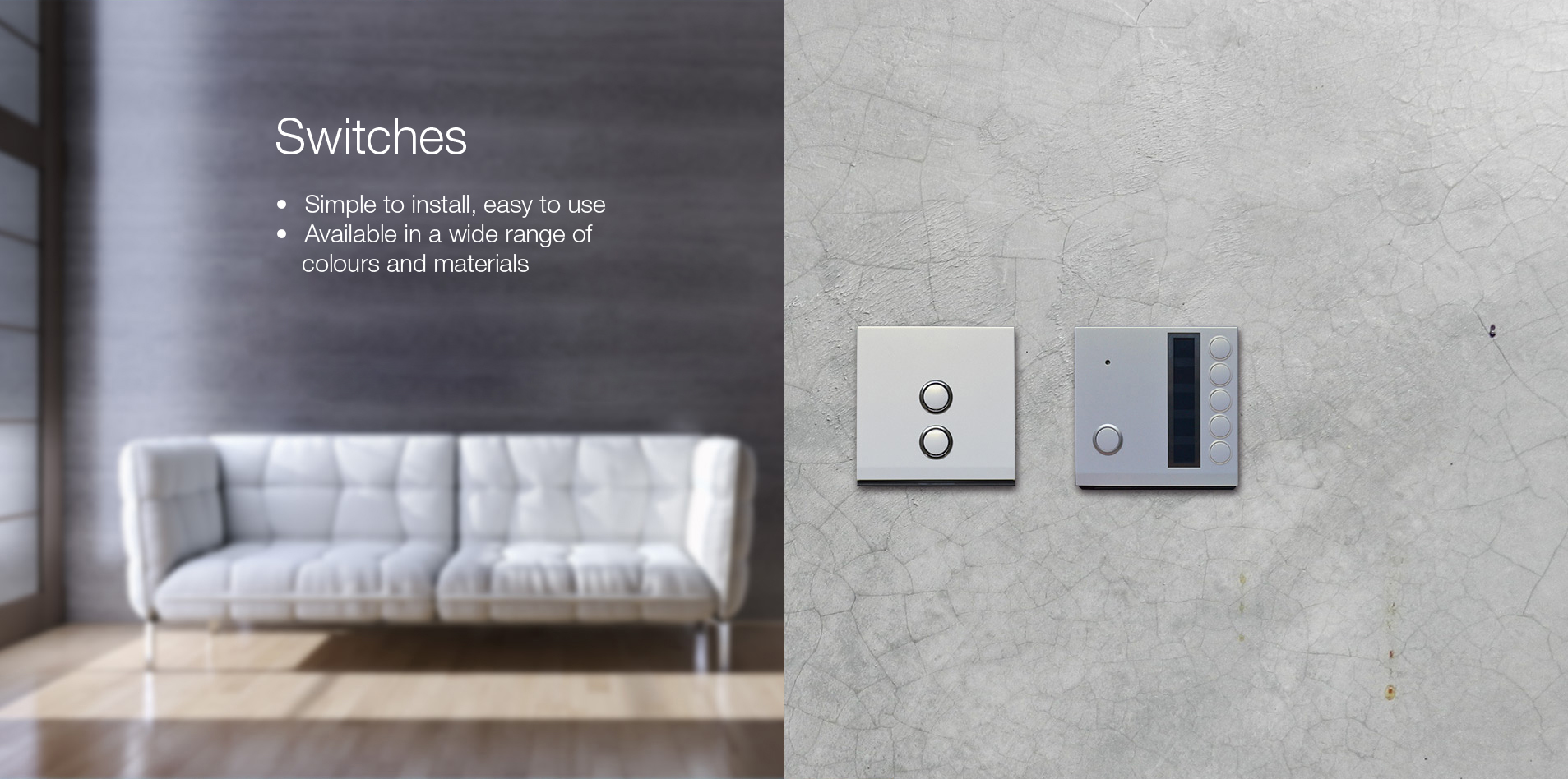 Smat switch - Smart Home Luxury Pack