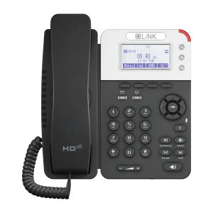 LiNK V208 VoIP Phone with 3 SIP Front View